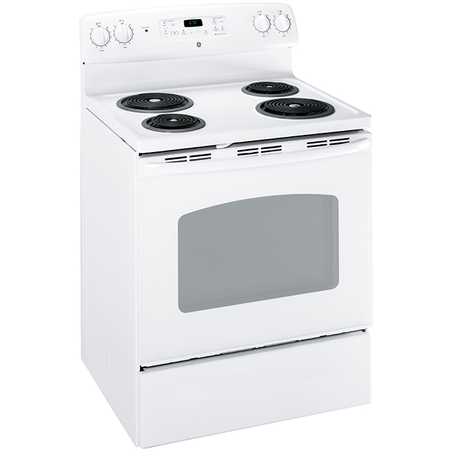 "Self-Clean Electric Range - 30"" - 5.0 cu. ft. - White"