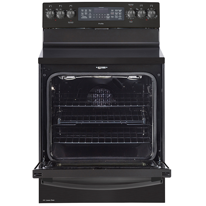 "Convection Range with Self-Clean - 30"" - 6.2 cu. ft. - Black SS"