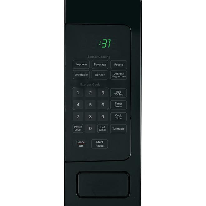 GE Profile Countertop Microwave Oven - 800 W - 1.1 cu. ft. - Black