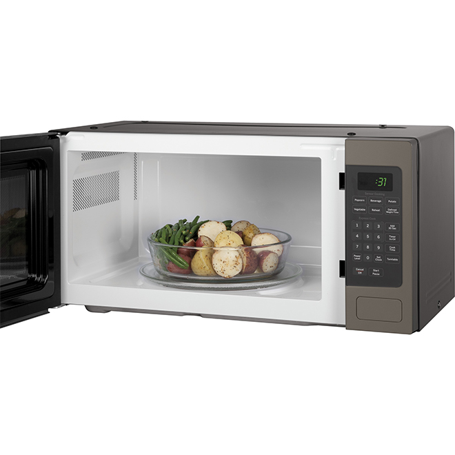 Countertop Microwave Oven - 800 W - 1.1 cu. ft. - Slate