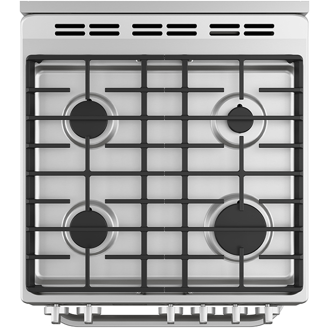 """Free-Standing Gas Range - 24"""" - 2.9 cu. ft. - Stainless Steel"""