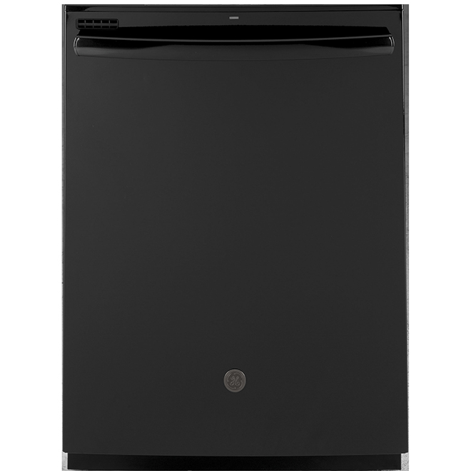 "Built-in PermaTuf Tall Tub Dishwasher - 24"" - Black"