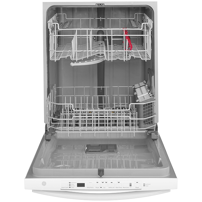 "Built-in PermaTuf Tall Tub Dishwasher - 24"" - White"