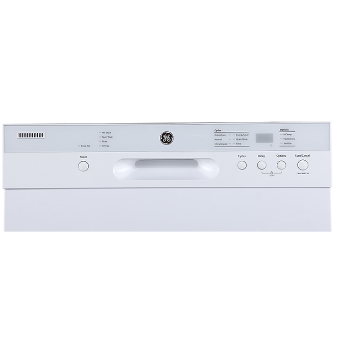 "Built-In Dishwasher with CleanSensor - 24"" - White"