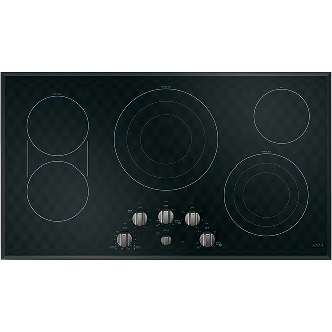 GE Cafe® Cooktop Control Knobs - Brushed Stainless