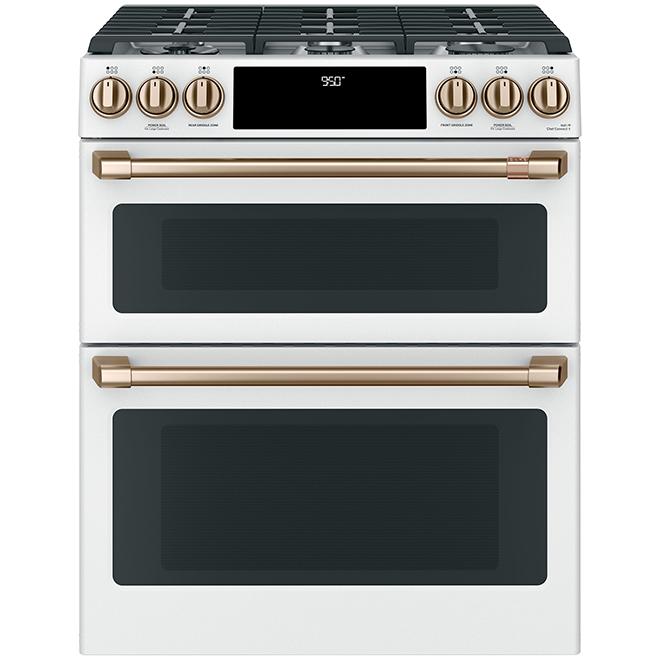 Boutons/poignées, cuisinière à gaz, GE Café(MD), bronze brossé