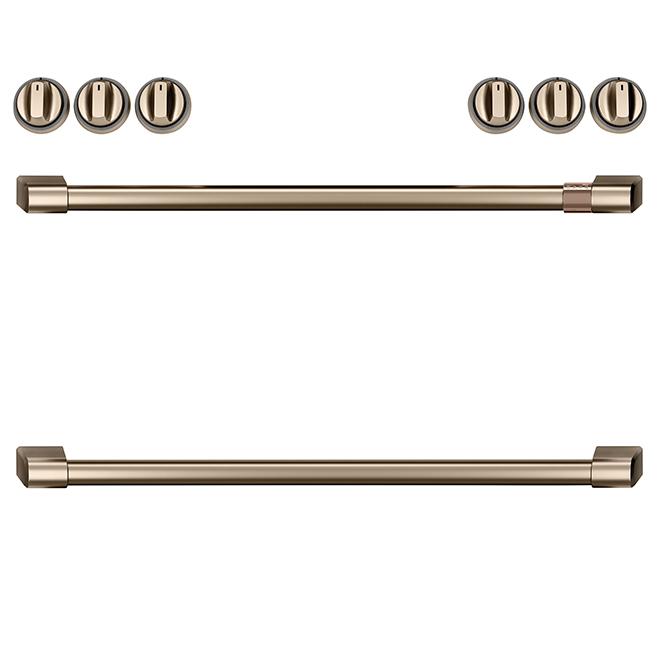 GE Cafe® Knobs/Handles for Range - Brushed Bronze