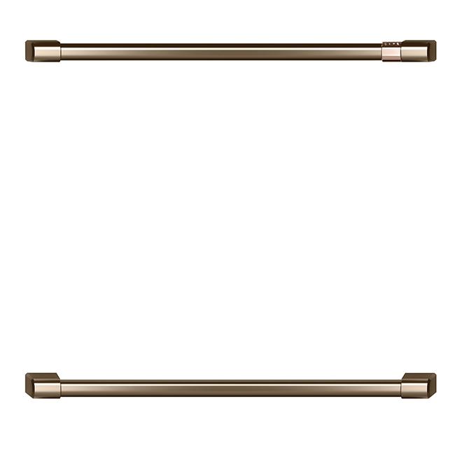 Set of 2 Double Wall Oven Handles - GE Café® - Bronze