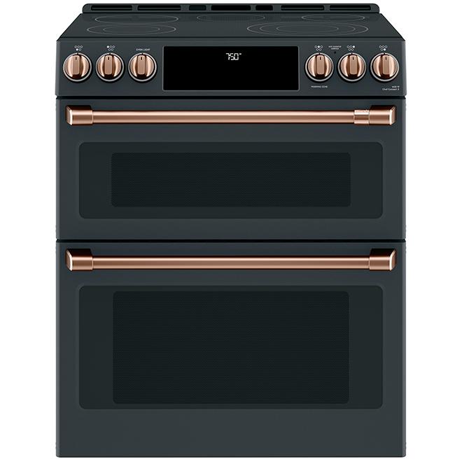 Poignées/boutons, cuisinière électrique GE Café(MD), cuivre