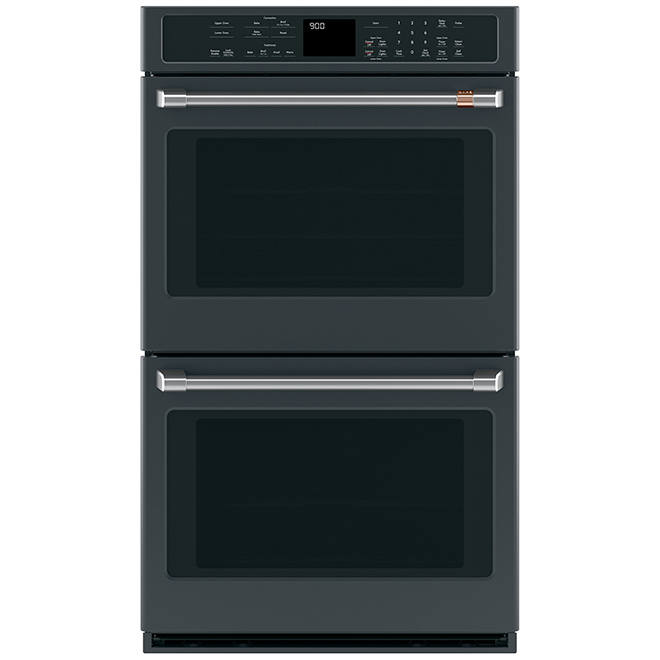 "Double Convection Oven with Wi-Fi Connect- 30"" - Matte Black"