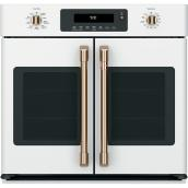 "French-Door Convection Oven - 5 cu. ft. - 30"" - Matte White"