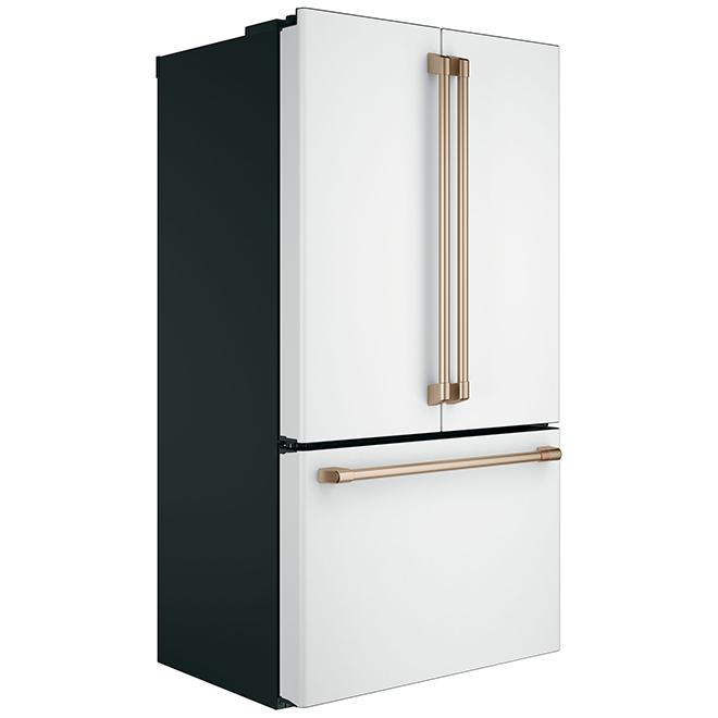 """French-Door Refrigerator - 36"""" - 23.1 cu. ft. - Matte White"""