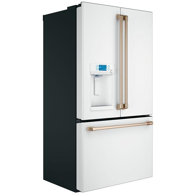 """French-Door Refrigerator - 36"""" - 22.2 cu. ft. - Matte White"""