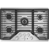 "GE Profile(TM) Gas Cooktop - 5 Burners - 30"" - Stainless Steel"