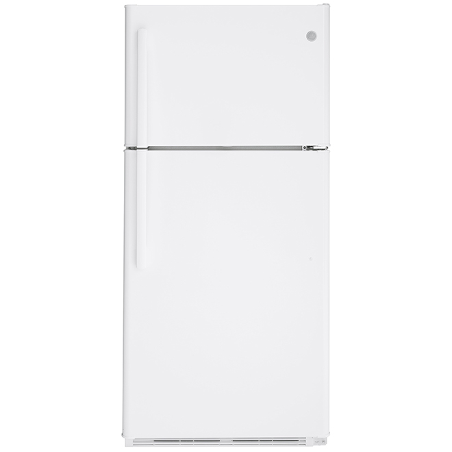 GE(R) Top-Freezer Refrigerator - 18.0 cu. ft. - White
