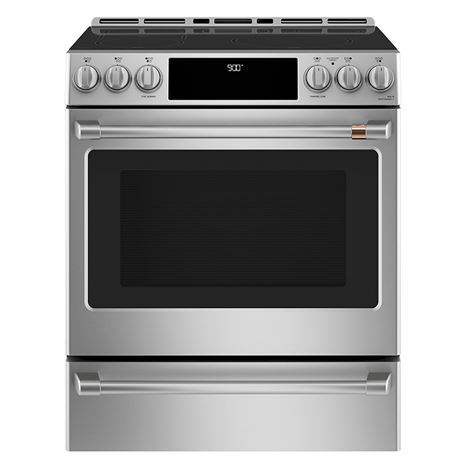 "Café(TM) Induction Range - Built-In - 30"" - 5.7 cu. ft. - SS"
