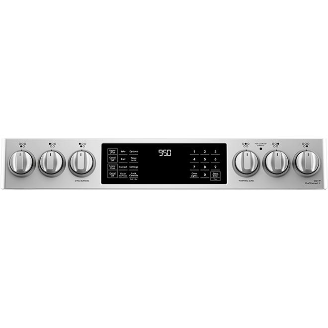 """Café(TM) Induction Dual Range - Built-In - 30"""" - 5.7 cu. ft. - SS"""