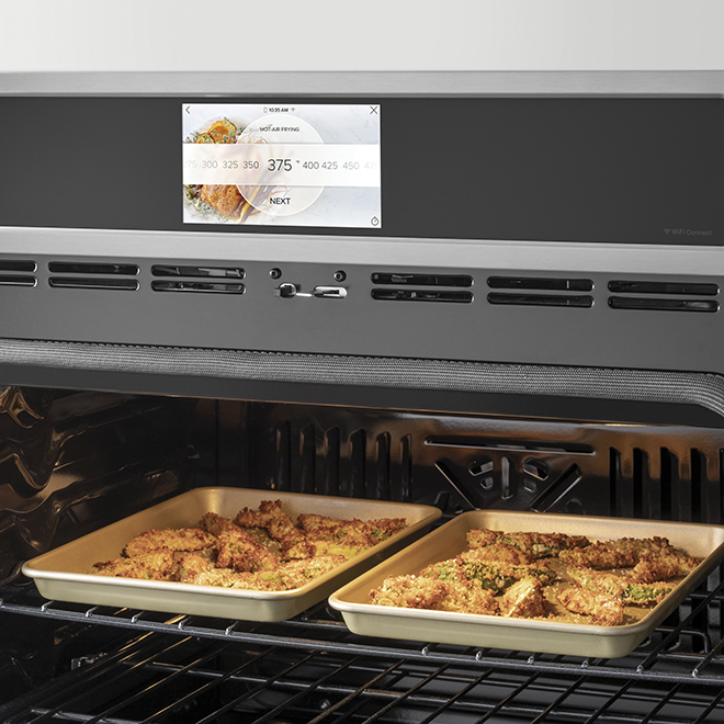 "GE Café(TM) Wall Oven - Self-Cleaning - 27"" - 4.3 cu. ft. - SS"