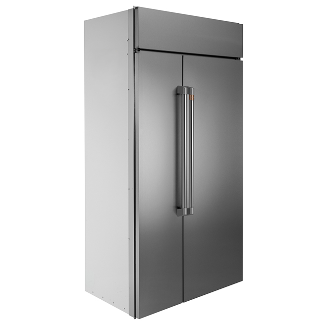 Built-In Side-by-Side Refrigerator - 25.2 cu. ft. - Stainless Steel