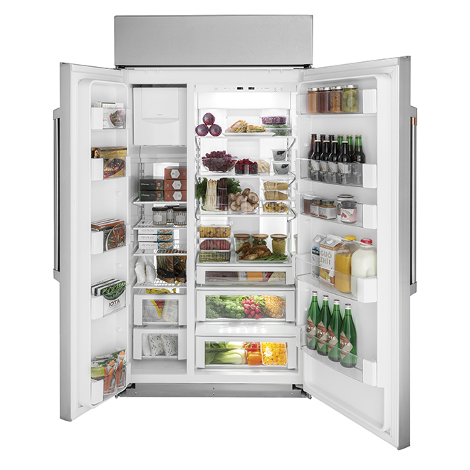 Built-In Side-by-Side Refrigerator - 29.6 cu. ft. - Stainless Steel