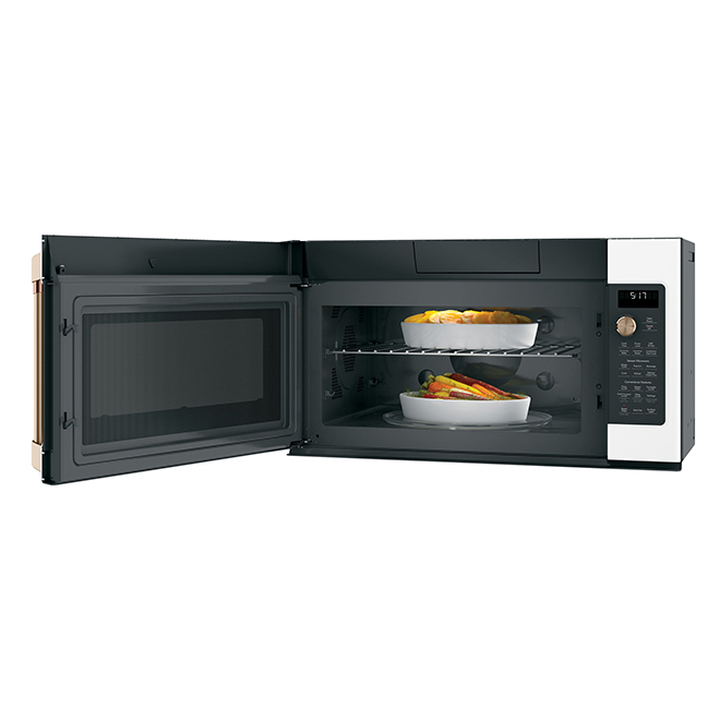 Over-the-Range Microwave Oven - 1.7 cu. ft. - Matte White