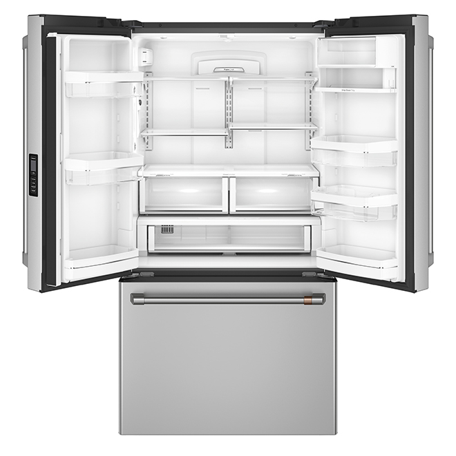 Counter-Depth Refrigerator with Wi-Fi- 23.1 cu. ft.- Stainless