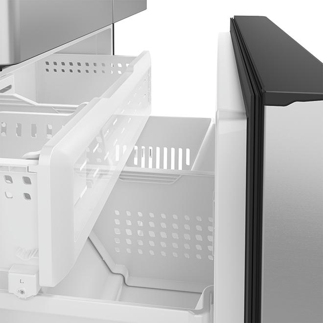 Réfrigérateur à profondeur comptoir avec Wi-Fi, 23,1 pi³, inox
