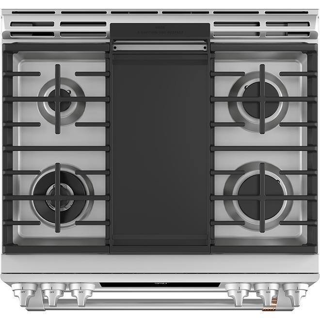 Dual-Fuel Range - Double Oven - Built-In - 6.7 cu. ft. - SS