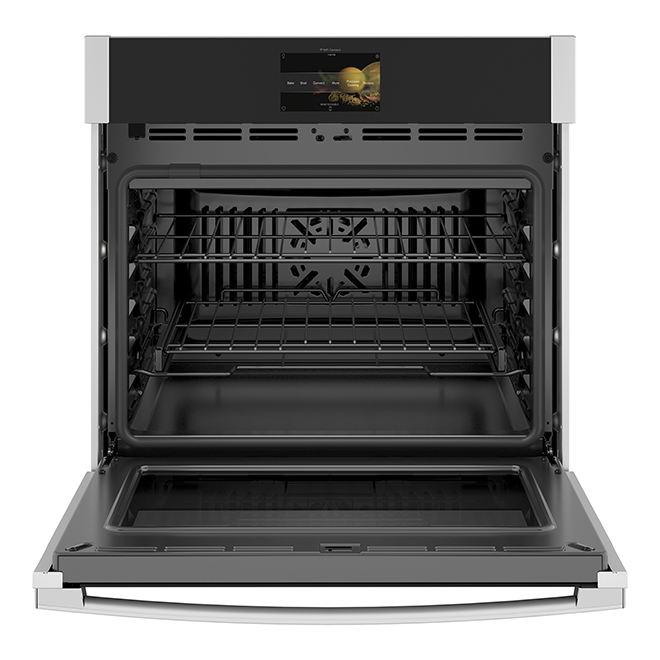 Connected Wall Oven with Screen - 5 cu. ft. - Stainless