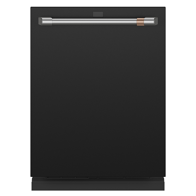 "Built-In Café(TM) Dishwasher with WiFi - 24"" - Matte Black"
