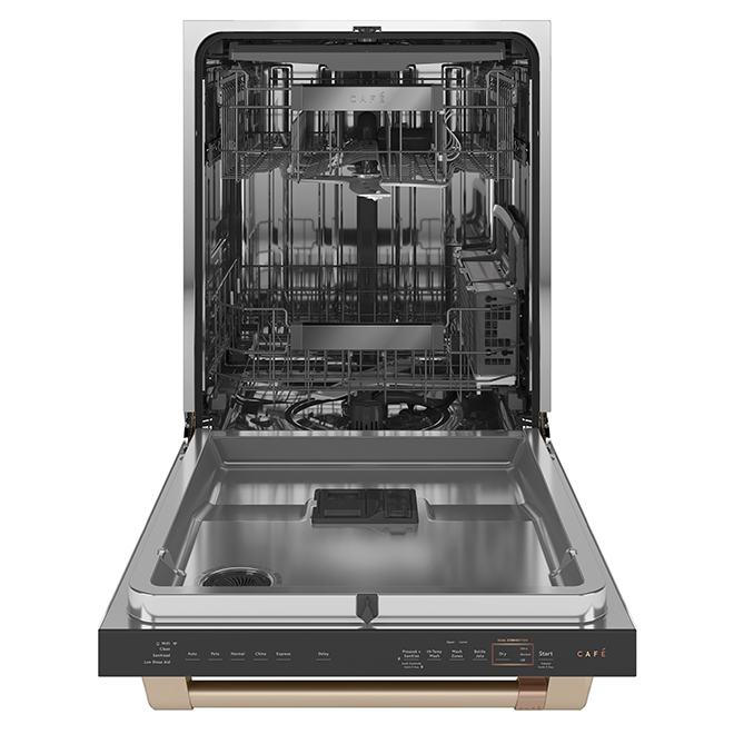 "Built-In Café Dishwasher with WiFi - 24"" - White"