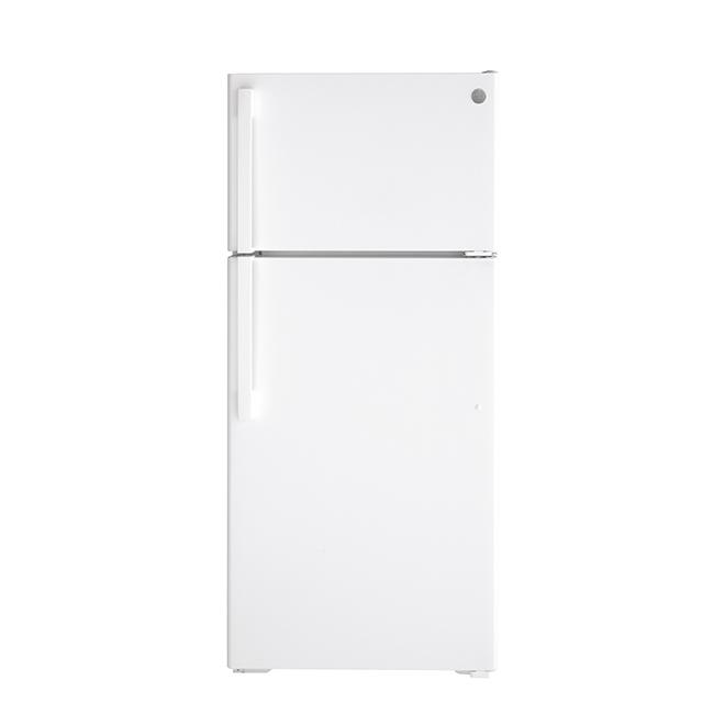 "Top Freezer Refrigerator - 16.6 cu. ft. - 28"" - White"