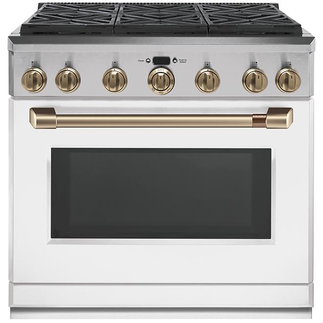 Coup de pied pour cuisinière, Café, métal, 36'', blanc mat