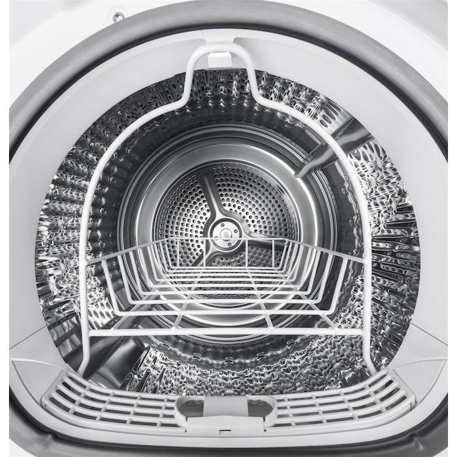 Sécheuse électrique GE compact, 4,1 pi³, blanc