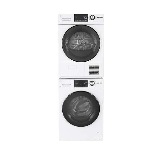 GE Electric Dryer - Compact - 4.1 cu.ft. - White