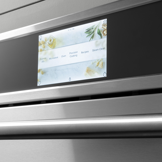 GE(R) Wall Oven - Convection 5 in 1 - 30'' - Matte White