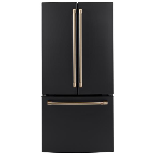 Poignées pour réfrigérateur CWE19, CAFE(MD), bronze brossé