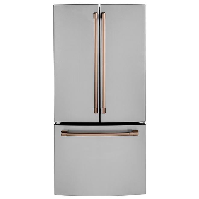 Poignées pour réfrigérateur CWE19, CAFE(MD), cuivre brossé