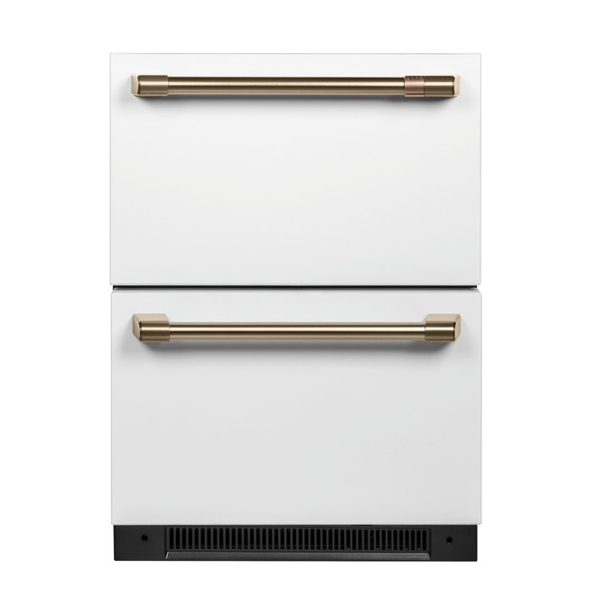 Built-In Refrigerator - Dual Drawer - 5.7 cu. ft - Matte White