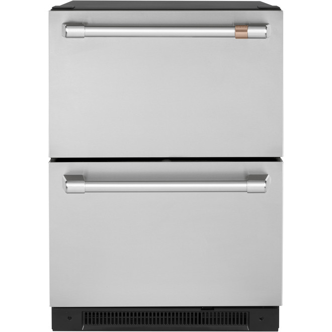 Built-In Refrigerator - Dual Drawer - 5.7 cu. ft - Stainless
