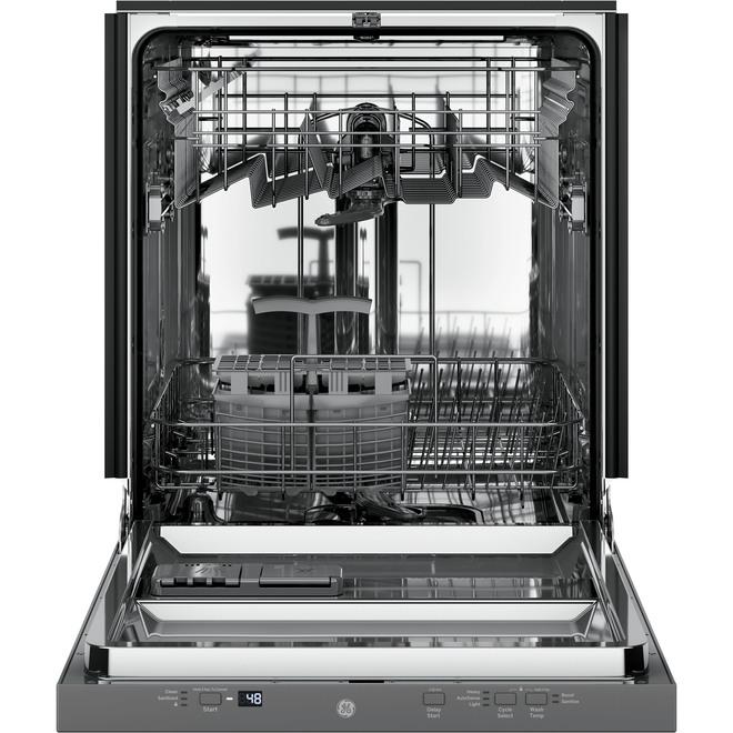 """Lave-vaisselle encastré GE, 51 dBA, 24"""", acier inoxydable"""