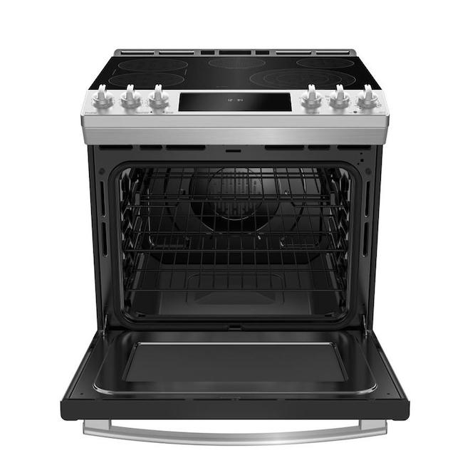 GE Profile Slide-In Convection Range - 5.3 cu. ft. - Stainless Steel