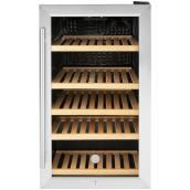 GE 31-Bottle Capacity (4.1-cu ft) Stainless Steel Built-In/Freestanding 5-Shelf Beverage Center