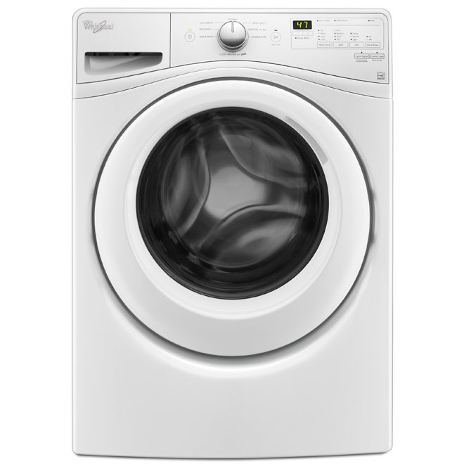 """27"""" Front-Load Washer - 5.2 cu. ft."""