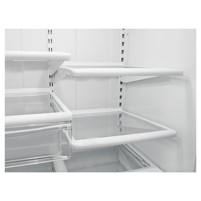 "Bottom-Freezer Refrigerator - 30"" - 19 cu. ft. - White"