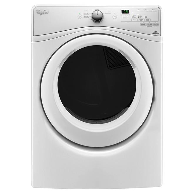 Electric Dryer - Wrinkle Shield(TM) - 7.4 cu. ft. - White