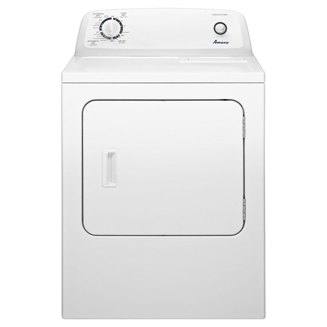 Amana 29-in Electric Dryer - 6.5 cu. ft. - White