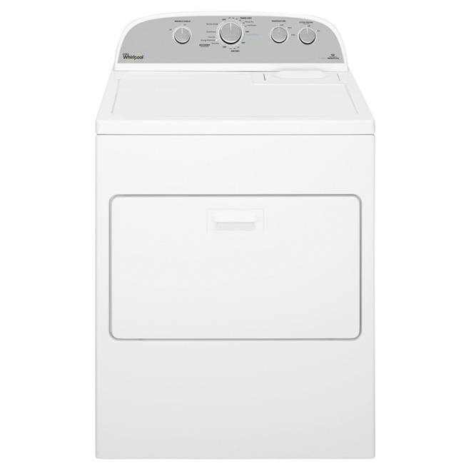 "29"" Gas Dryer with Steam- 7.0 cu. ft. - White"