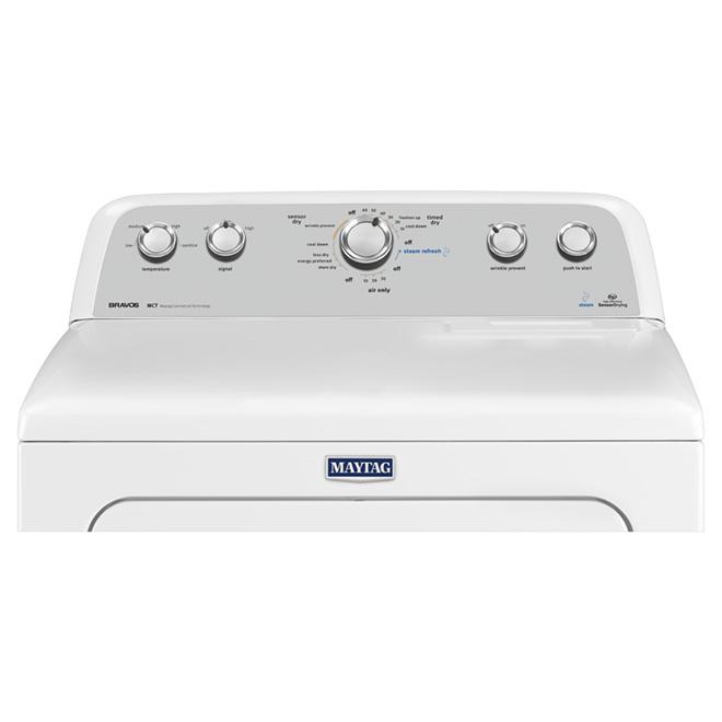 "30"" High-Efficiency Gas Steam Dryer - 7.0 cu. ft."