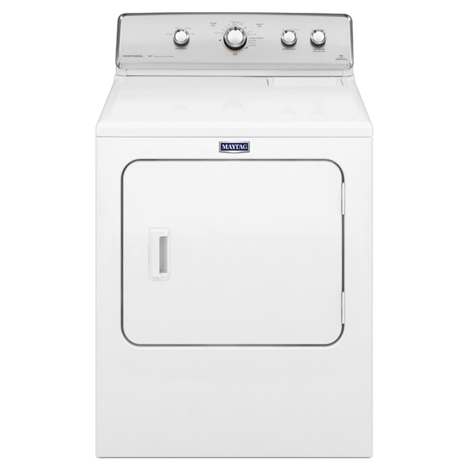 """29"""" Electric Dryer with IntelliDry(R) - 7.0 cu. ft. - White"""